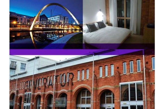 1 Bedroom Flat To Rent In Electric Wharf Coventry Cv1 4jl